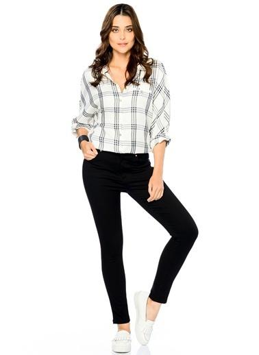 Super Skinny Jean Pantolon Siyah